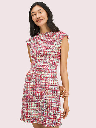 Kate Spade Textured Tweed Dress