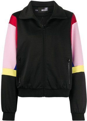 Love Moschino colour-block track jacket
