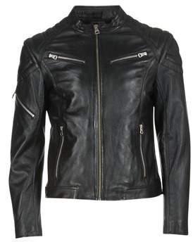 Redskins FLASH men's Leather jacket in Black