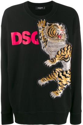 DSQUARED2 Tiger graphic sweatshirt