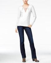 Joe's Jeans Amora Lace-Up Top