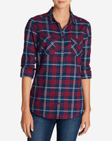 Eddie Bauer Women's Stine's Favorite Flannel Shirt - Dobby