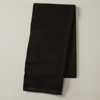Indigo Eco Scarf Solid Black