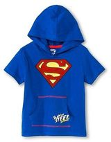 Superman Toddler Boys' Hooded Costume Tee Shirt
