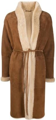 Simonetta Ravizza Alabama shearling coat