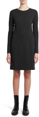 Theory K. Regen Seamed Long Sleeve Dress