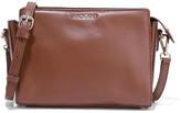 Sandro Amata leather shoulder bag
