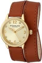 Stuhrling Original Women's 646.02 Vogue Analog Display Swiss Quartz Beige Watch