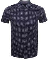 Ted Baker Texgeo Shirt Navy