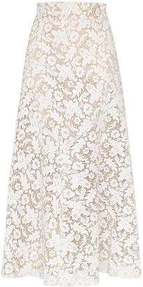 Skiim Lace Midi Skirt