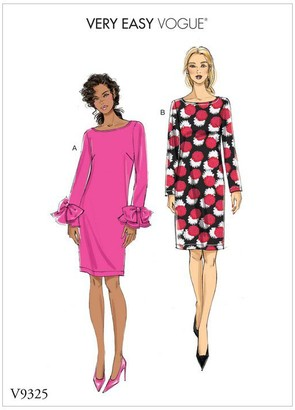 Vogue Women's Very Easy Dress Sewing Pattern, 9325