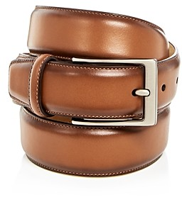 The Men's Store At Bloomingdale's The Men's's Store at Bloomingdale's Men's Leather Belt - 100% Exclusive