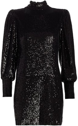A.L.C. Christy Sequin Mini Dress