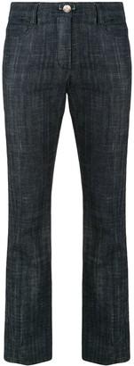 Chanel Pre Owned Long Denim Pants