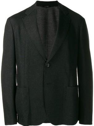 Giorgio Armani Patch-Pocket Blazer