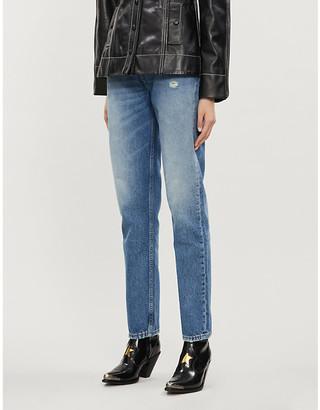 Boyish Casey Crossover high-rise straight jeans