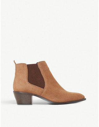 Bertie Peater suede ankle boots