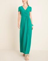 Eliza J Surplice Maxi Dress