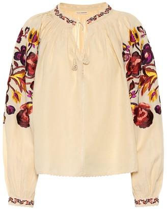 Ulla Johnson Simona linen and cotton blouse