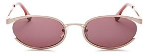 Le Specs Luxe Women's Tres Solo Oval Sunglasses, 56mm
