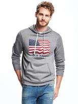 Old Navy 2017 Flag-Graphic Pullover Hoodie for Men