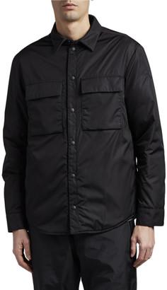 Moncler Men's Cassis Fleece-Lined Shirt Jacket
