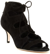 Delman Tryst Lace-Up Heel