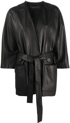 FEDERICA TOSI Belted Kimono Jacket