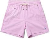 Polo Ralph Lauren Slim-Fit Mid-Length Striped Cotton-Blend Seersucker Swim Shorts