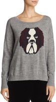 French Connection Otis Dog Graphic Sweater