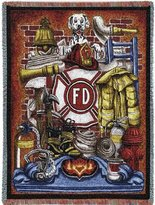 Pure Country Fireman Pride Blanket Throw - 70 x 54 USA Made