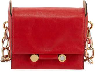 Marni Flap Leather Crossbody Bag