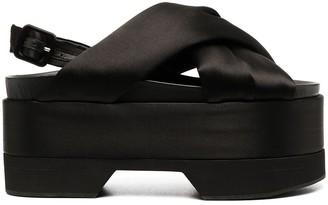Simone Rocha Crossover Strap Sandals