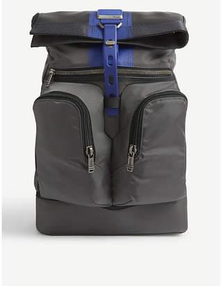 Tumi London Roll-Top nylon backpack