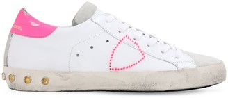 Philippe Model Paris Veau Studs Leather Sneakers