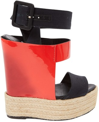 Pierre Hardy Red Patent leather Sandals
