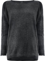 Avant Toi loose-fit jumper - women - Silk/Cashmere - XS