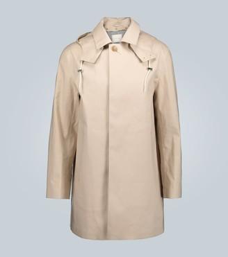 MACKINTOSH Bonded cotton coat with hood