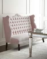 Haute House Isabella Blush Banquette