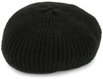 Jennifer Behr Gemstone-Detailed Wool Beret