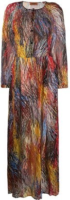 Missoni Graphic-Print Flared Dress