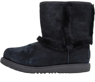 UGG Girls Hadley II Waterproof Boots Black
