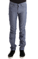 Naked & Famous Denim Skinny Guy in Chambray Selvedge