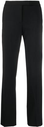 DKNY high-rise straight-leg trousers