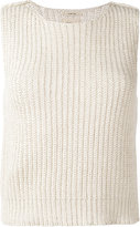 Bellerose Abys knitted tank - women - Cotton/Acrylic - 1
