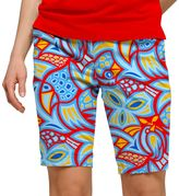 Loudmouth Women's Loudmouth Abstract Chicken Print Golf Skort