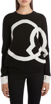 Moncler Interlocking Logo Wool & Cashmere Sweater