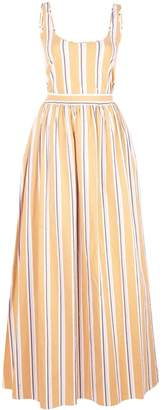 Brock Collection striped flared gown