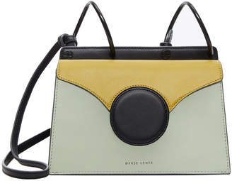 Danse Lente Mini Phoebe Colorblock Shoulder Bag, Green