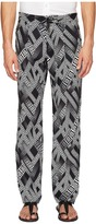 Versace Printed Trousers Men's Casual Pants